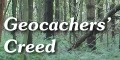 Geocachers' Creed